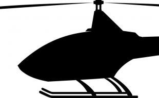 Commercial heliport info logo