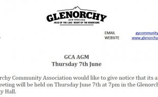 GCA AGM JUNE 2018 image